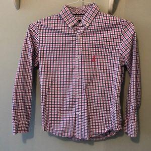 Boys Johnnie O dress shirt - Size 12